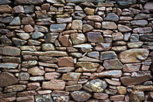Canvas print - Rustic Stonewall