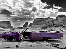 Fototapet - Abandoned Car