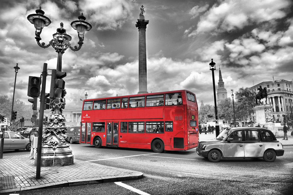 London Bus - Colorsplash