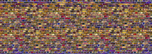 colorful brick wall wall mural photo wallpaper photowall
