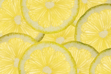 Wall mural - Sliced Lemons