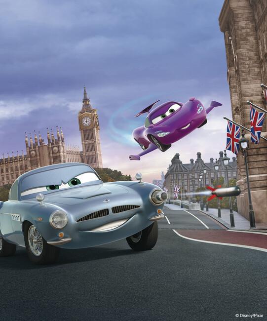 Cars london fotobehang behang photowall - Behang london ...