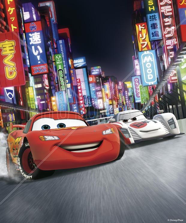 Cars 2 - Shu Todoroki Lightning McQueen - Wall Mural ...