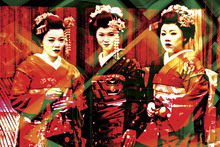 Wall Mural - Geisha time