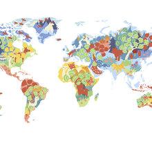 World map wallpaper wall murals photowall wall mural wonderful world gumiabroncs Gallery