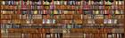Fototapet - Bookshelf