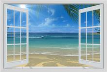 Wall mural - Sunshine Through Window