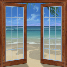 Canvas-taulu - Beach View