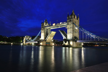 Canvas print - Tower Bridge at Night