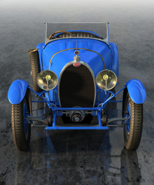 Wall Mural - Bugatti Type 43 Front_1927