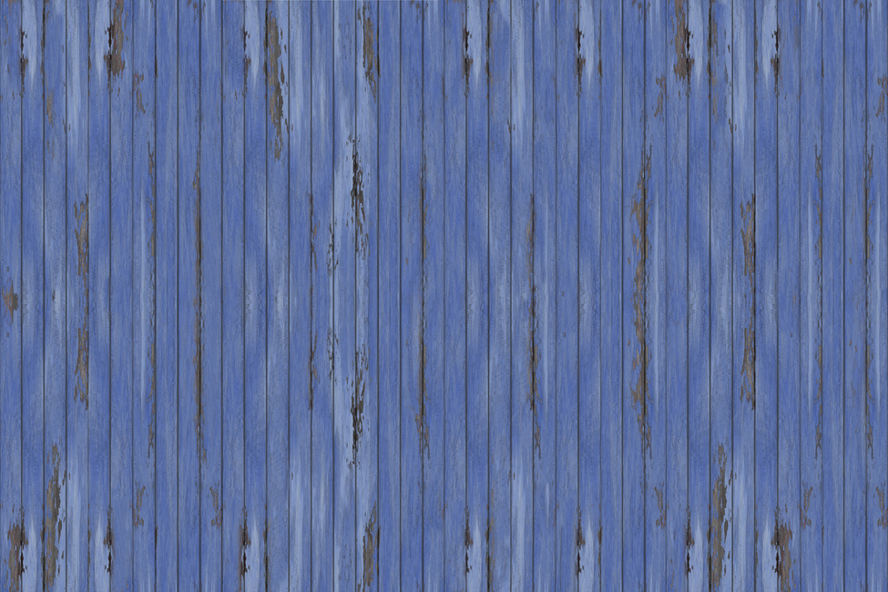 Blue Vintage Wood Wall