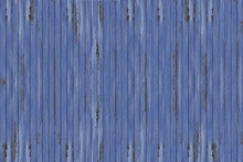 Fototapete - Blue Vintage Wood Wall