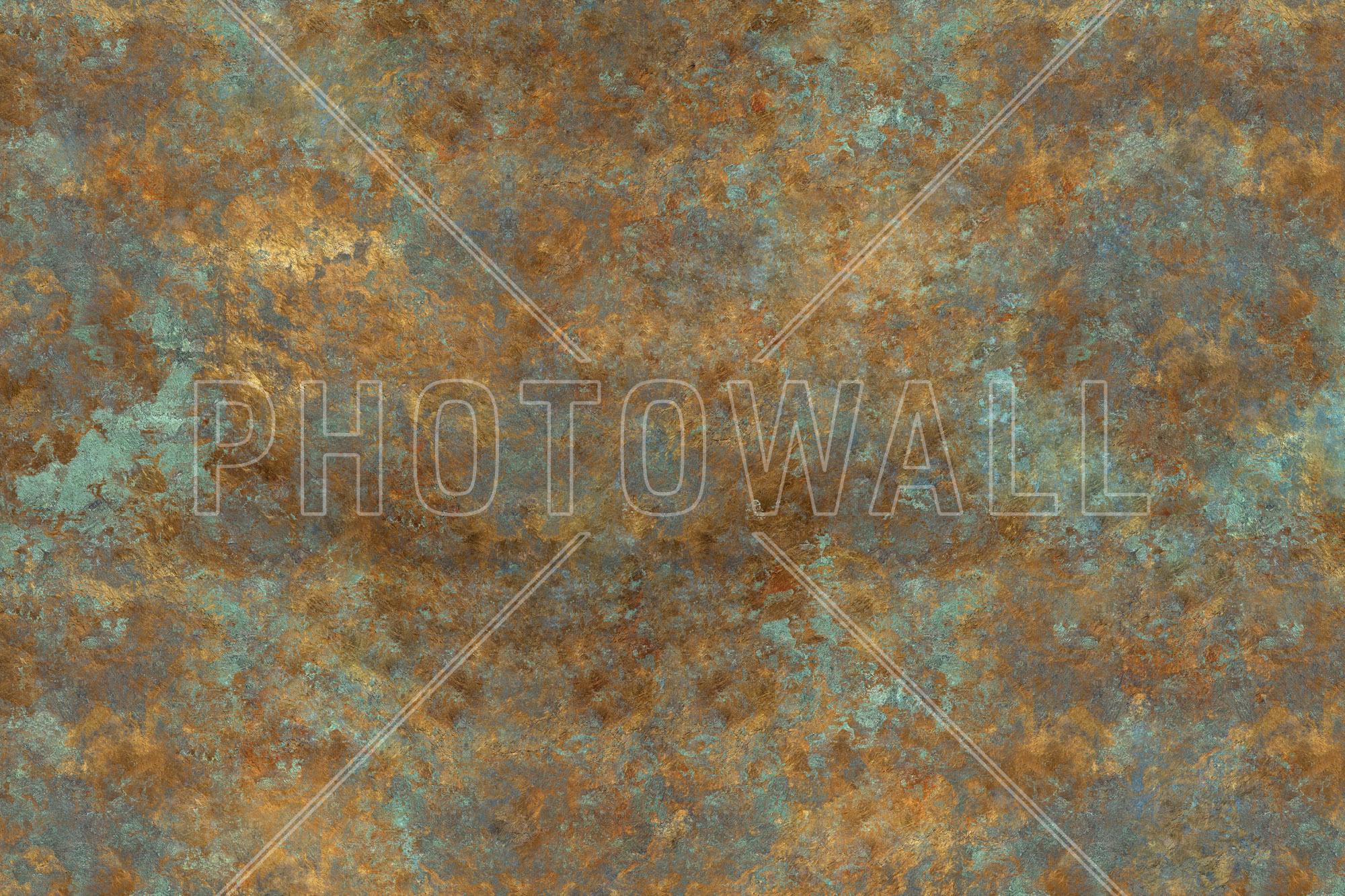 Vintage Bronze Background - Wall Mural &- Photo Wallpaper - Photowall