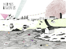 Wall Mural - Miles Between Us
