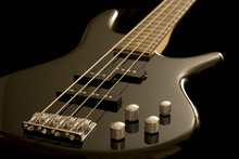 Canvastavla - Electric Bass Guitar