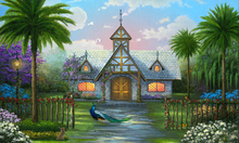 Canvas print - Paradise Cottage