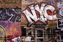 Wall mural - Graffiti in Manhattan