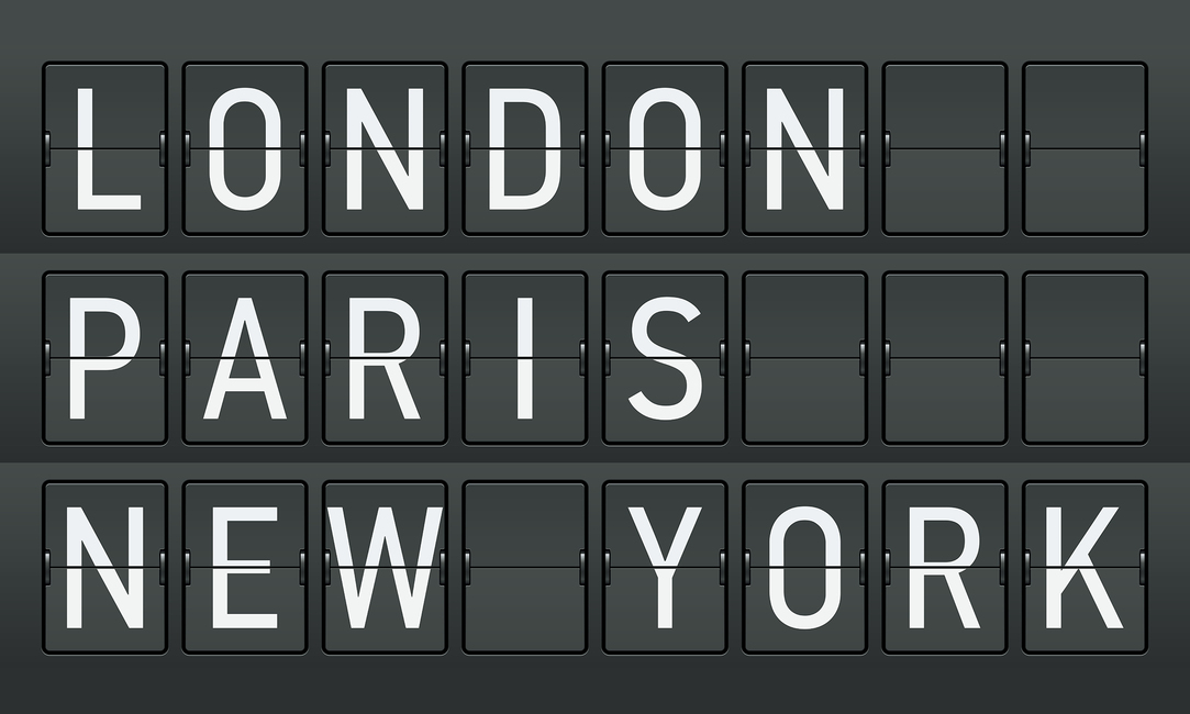London - Paris - New York