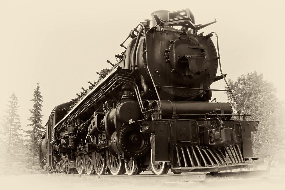 Steam Locomotive Wall Mural Amp Photo Wallpaper Photowall
