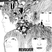 Canvastavla - Beatles - Revolver