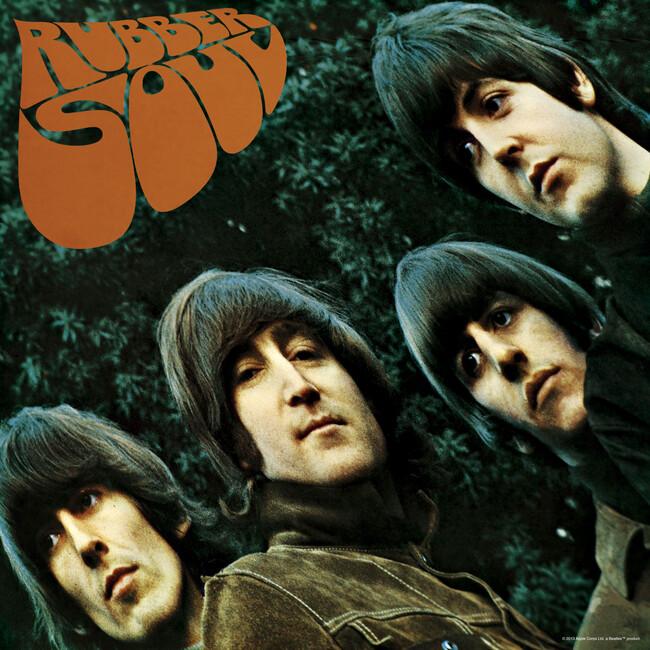 Beatles - Rubber Soul - Fototapeter & Tapeter - Photowall