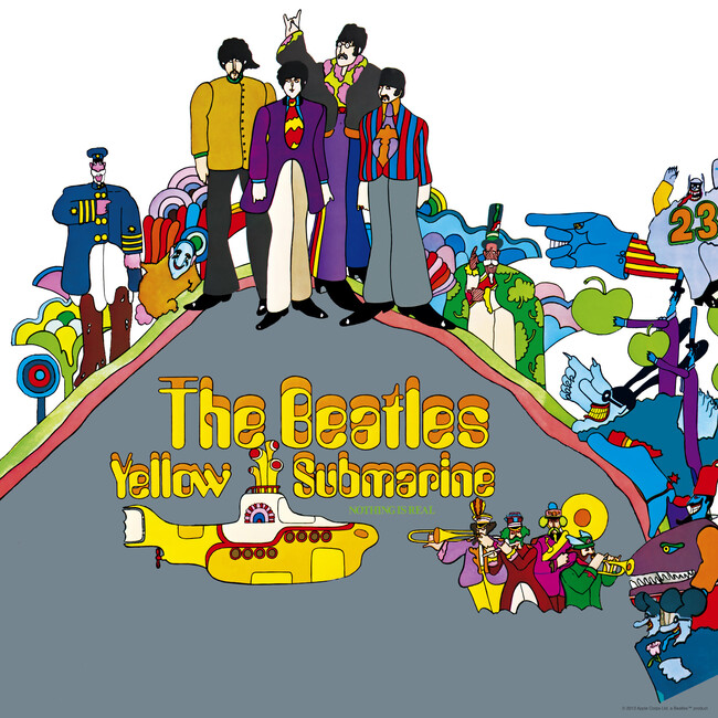 Beatles - Yellow Submarine - Wall Mural & Photo Wallpaper - Photowall