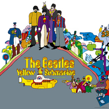Lerretsbilde - Beatles - Yellow Submarine