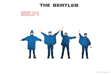 Fototapet - Beatles  - Help