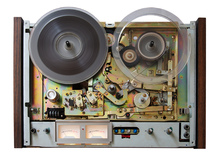 Canvastavla - Vintage Analog Taperecorder