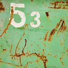 Canvas print - Grunge Fifty-three