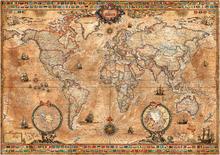 Wall mural - Pergament Map