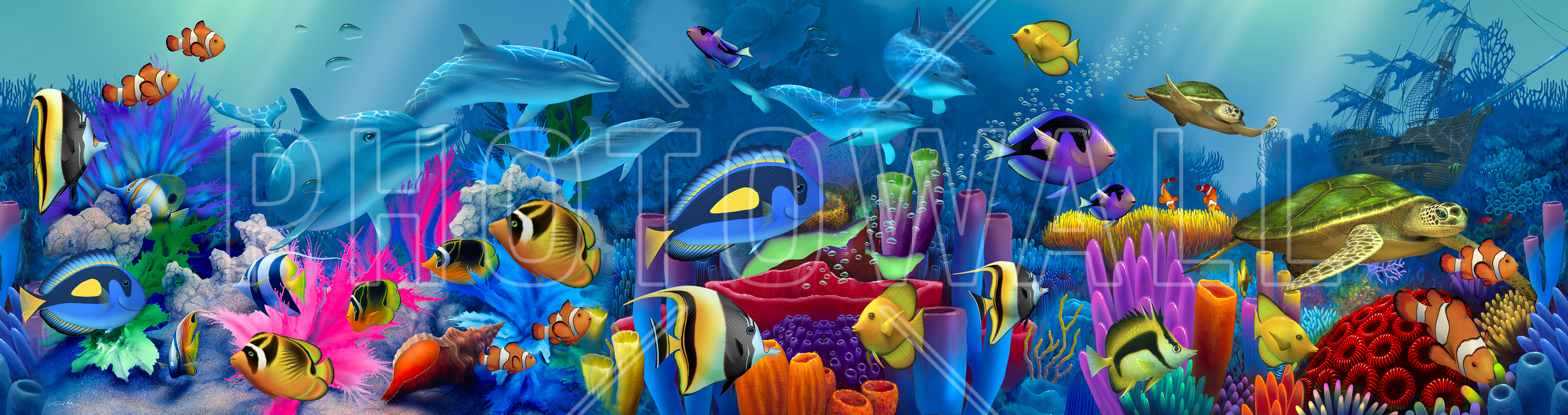 neptunes garden wall mural photo wallpaper photowall neptunes garden