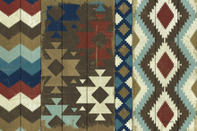 Canvas print - Native Tapestry