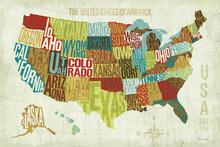 Wall mural - USA Modern
