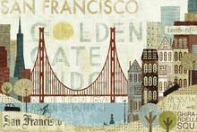 Wall mural - Hey San Francisco