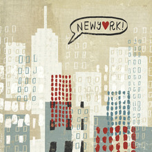 Canvas print - NYC Collage