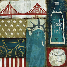 Canvas print - American Pop I