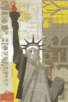 Canvas print - Liberty