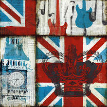 Wall mural - British Rock I