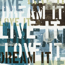 Fototapet - Live the Dream