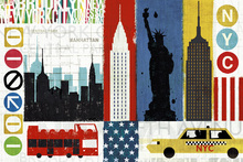 Wall mural - New York City Experience