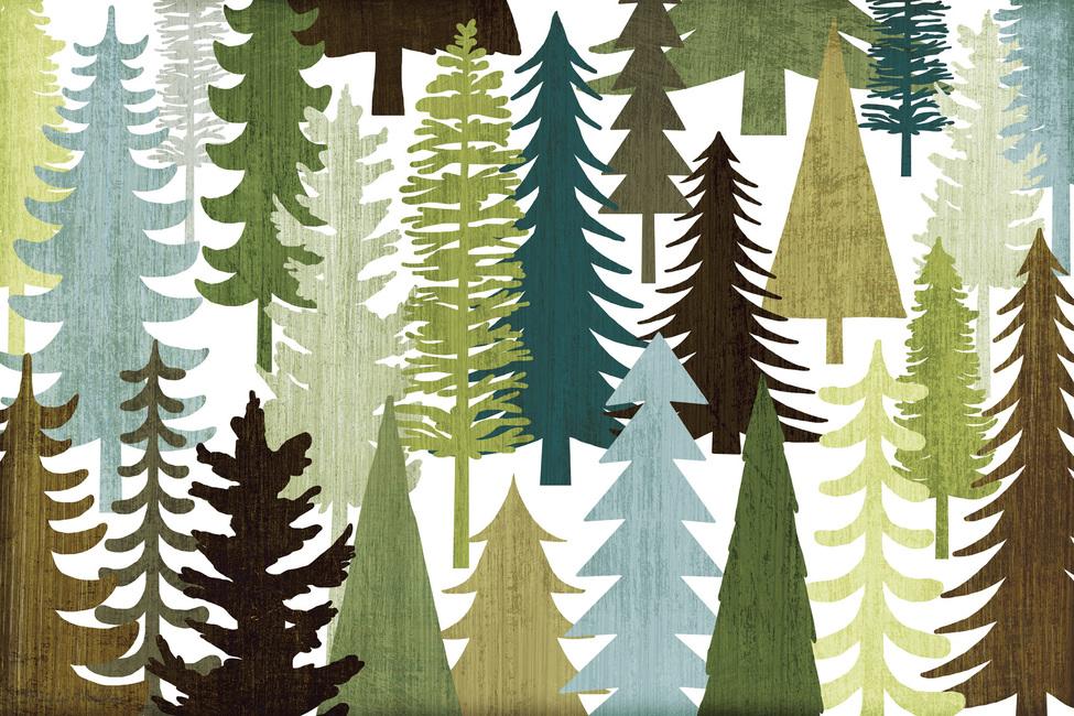 woodland trees wall mural amp photo wallpaper photowall forest woodland deer stag wall mural photo wallpaper 3194dk