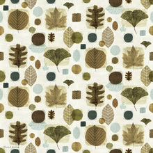 Wallpaper - Woodland Sweet Leaves Pattern