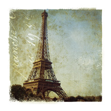 Canvas print - Golden Age of Paris I