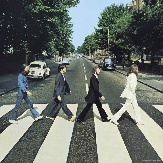 Beatles abbey road wall mural photo wallpaper for Beatles abbey road wall mural