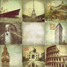Canvas print - Golden Age Travel