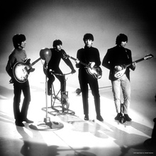 Fototapet - The Beatles - Playing