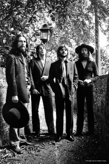 Lerretsbilde - The Beatles - Final Photo session 1969