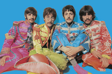 Lerretsbilde - The Beatles - Sgt Peppers Lonely Hearts Club Band