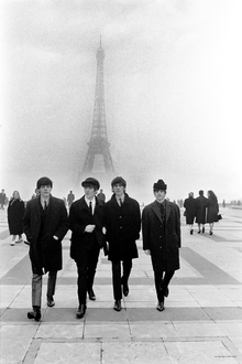Lerretsbilde - The Beatles - In Paris